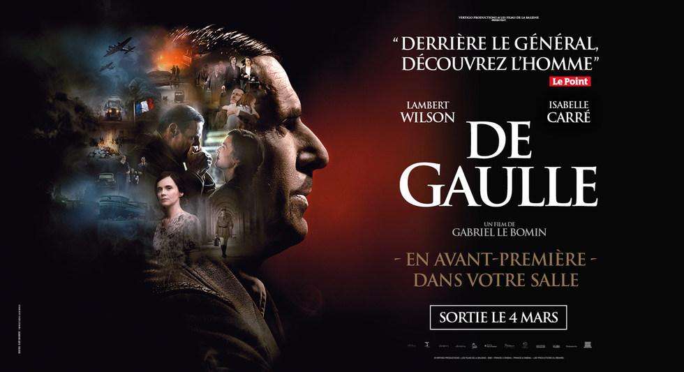 DE GAULLE - DIMANCHE le 1er MARS à 16h00
